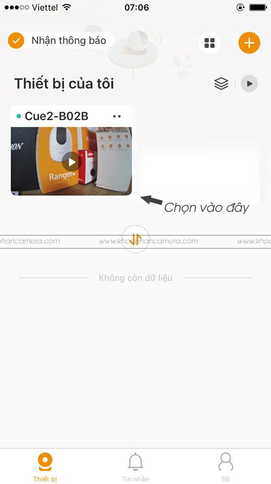Hướng dẫn xem lại Camera Imou trên điện thoại