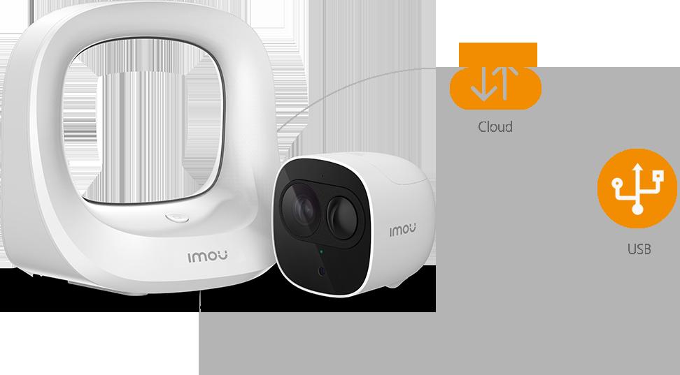 Camera IP WIFI IPC-G26EP Báo động chống trộm